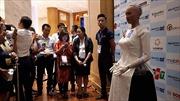 Khán giả thi nhau đặt câu hỏi cho công dân robot đầu tiên Sophia