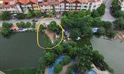 Hồ Ngòi, Hà Nội bị ngang nhiên san lấp, lấn chiếm