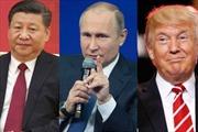 Tổng thống Trump thành người đến sau trong 'cuộc tình tay ba' Nga-Trung-Mỹ