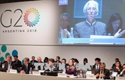 G20 chưa tìm đồng thuận về giải quyết bất đồng thương mại