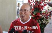 ASIAD 2018: HLV Park Hang Seo hài lòng về sân tập mới của Olympic Việt Nam