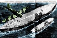 Lật lại kế hoạch 'quái dị' xây tàu sân bay bằng băng của Anh