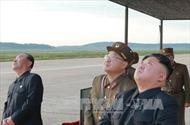 Triều Tiên đóng tàu ngầm trang bị tên lửa đạn đạo mới