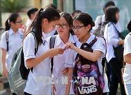 Hải Phòng: Khoảng 21.000 thí sinh tham dự kỳ thi vào lớp 10