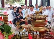 Dâng hương tưởng niệm 10 năm ngày mất Thủ tướng Võ Văn Kiệt