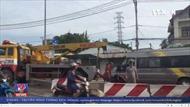 Lật xe khách tại thành phố Hồ Chí Minh, 2 người bị thương nặng