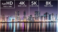Tivi 8K là gì, khác biệt gì so với 4K?