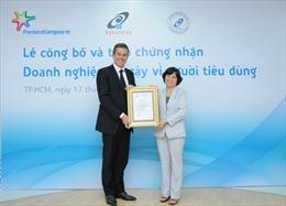 """Công ty FrieslandCampina Việt Nam đạt chứng nhận """"Doanh nghiệp Tin cậy vì Người tiêu dùng"""""""