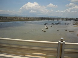 Sạt lở nghiêm trọng tại cửa Đại sông Trà Khúc
