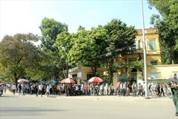150 chốt trực giao thông đảm bảo an toàn Lễ Quốc tang