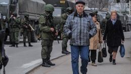 Binh sĩ Ukraine ở Crưm cam kết trung thành với chính quyền tự trị