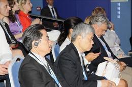 Lãnh đạo TTXVN tham dự Diễn đàn kinh tế quốc tế St. Petersburg