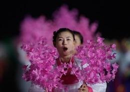 Triều Tiên cử đội cổ vũ dự Đại hội thể thao tại Hàn Quốc