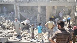 Quân đội Syria tấn công phe nổi dậy gần biên giới Liban