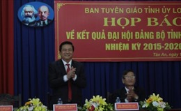 Ông Phạm Văn Rạnh được bầu làm Bí thư Tỉnh ủy Long An