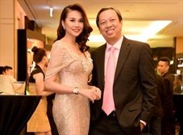 Siêu mẫu Thanh Hằng tỏa sáng tại Hà Nội