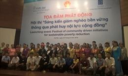 Phát động hội thi sáng kiến giảm nghèo bền vững