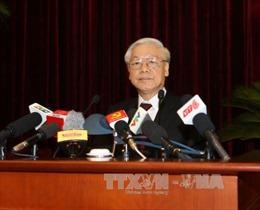 Thông cáo báo chí phiên bế mạc Hội nghị Trung ương 4