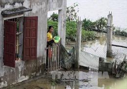 Nước sông Lam dâng cao, 11.000 người dân bị cô lập