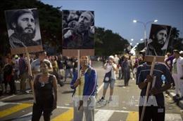 Người dân Cuba cam kết bảo vệ sự nghiệp cách mạng