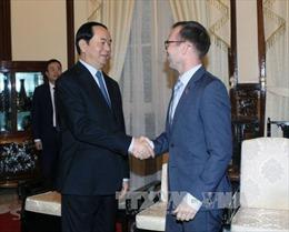 Chủ tịch nước tiếp Đại sứ New Zealand đến chào từ biệt