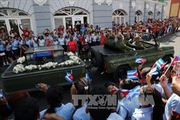 Cuba cử hành trọng thể tang lễ lãnh tụ Fidel Castro