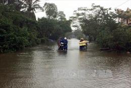 Mặt trận Tổ quốc Việt Nam hỗ trợ ba tỉnh miền Trung thiệt hại do mưa lũ