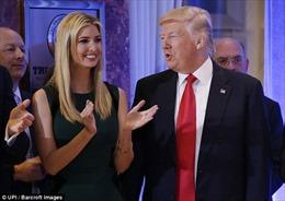 Ivanka Trump thành 'bà nội trợ kiểu Mỹ' sau khi cha làm Tổng thống