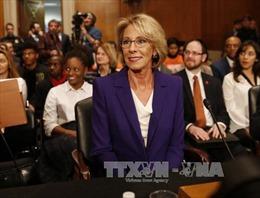 Thượng viện Mỹ phê chuẩn bà Betsy DeVos làm Bộ trưởng Giáo dục
