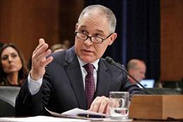 Thượng viện Mỹ phê chuẩn vị trí Giám đốc Cơ quan Bảo vệ Môi trường