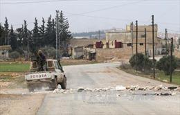IS rút khỏi thành phố al-Bab