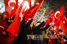 Biểu tình lớn ủng hộ Thổ Nhĩ Kỳ tại Rotterdam