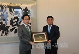 Đoàn đại biểu cấp cao Thành phố Hồ Chí Minh thăm Nhật Bản