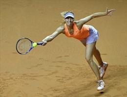 Maria Sharapova dừng bước tại bán kết Stuttgart, Nadal có trận chung kết thứ 5 của mùa