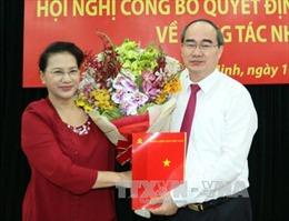 Ông Nguyễn Thiện Nhân làm Bí thư Thành ủy TP.HCM, ông Đinh La Thăng làm Phó Ban Kinh tế Trung ương