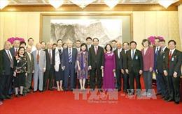 Chủ tịch nước Trần Đại Quang tiếp các nhân sĩ Trung Quốc