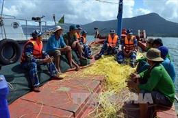 Hỗ trợ ngư dân ứng phó với thiên tai trên biển