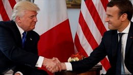 Tổng thống Macron giải thích cú bắt tay 'gây bão' với Tổng thống Mỹ