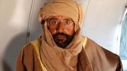 Toà án quốc tế yêu cầu bắt lại con trai cố lãnh đạo Libya Gaddafi