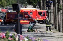 Thủ phạm vụ đâm xe ở đại lộ Champs Elysees thề trung thành với IS