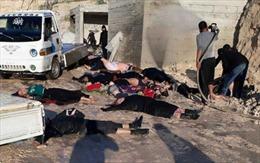 OPCW: Chất độc sarin đã được sử dụng trong vụ tấn công ở Syria