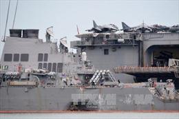 Cuộc điều tra vụ va chạm tàu USS John McCain sẽ mất khoảng 1 năm