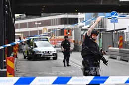 Tấn công bằng dao tại Thụy Điển khiến 1 cảnh sát bị thương