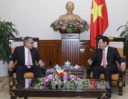 Phó Thủ tướng Phạm Bình Minh tiếp Thứ trưởng Thứ nhất Bộ Ngoại giao Cuba