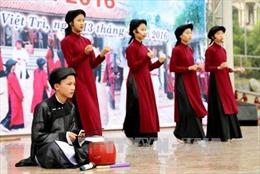 Đẩy mạnh quảng bá di sản hát Xoan Phú Thọ