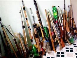 Xử phạt nghiêm hành vi tàng trữ, chế tạo súng đạn tự chế trái phép