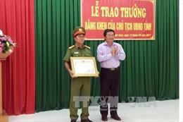 Ninh Thuận khen thưởng thành tích phá vụ mua bán trái phép 530 kg thuốc nổ