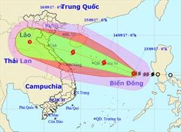 Bão số 10 dự báo đổ bộ vào miền Trung với cấp độ mạnh chưa từng có
