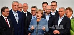Bầu cử Đức: Liên đảng CDU/CSU dẫn đầu