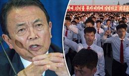 Nhật Bản có thể bắn người tị nạn Triều Tiên nếu chiến tranh nổ ra